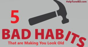 5 Bad Habits That are Making You Look Old