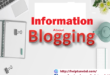 Some Information About Blogging