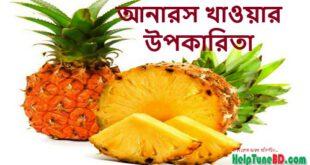 খালি পেটে আনারস খাওয়ার উপকারিতা, আনারস খাওয়ার সঠিক সময়, Health Benefits of Pineapple