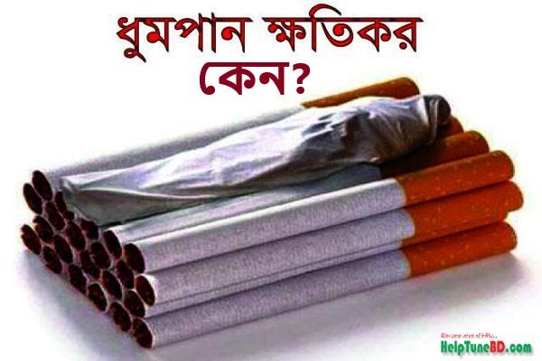 ধূমপান করলে কি ক্ষতি হয় | ধূমপান স্বাস্থ্যের পক্ষে ক্ষতিকর কেন? What are dangers of smoking
